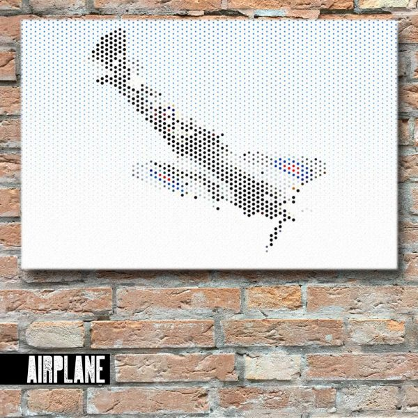 Airplane Canvas Wall Art
