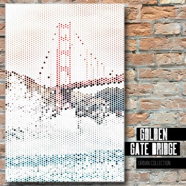 Golden Gate Bridge Canvas Wall Art