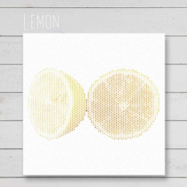Lemon Wall Art