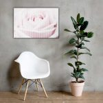 Pink Floral Wall Art