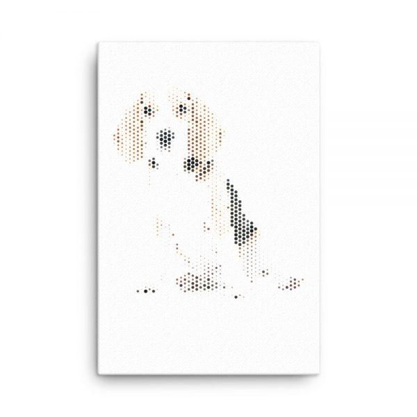 Dog Canvas Wall Art