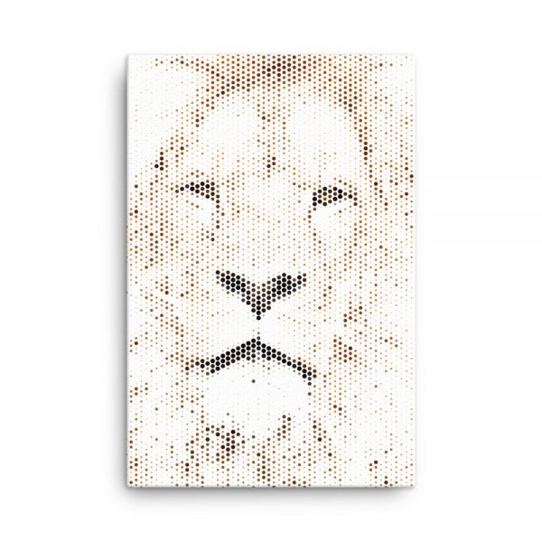 Lion Canvas Wall Art