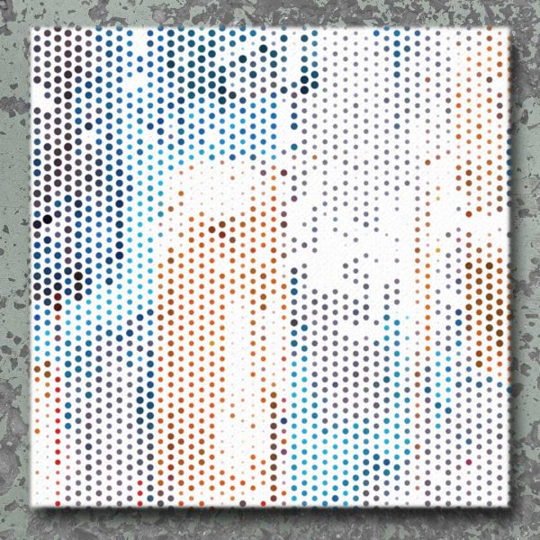 Multicolor Abstract Wall Art