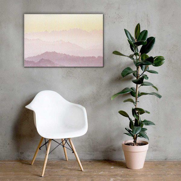 Gradient Landscape Wall Art