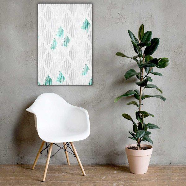 Rhomboids Wall Art