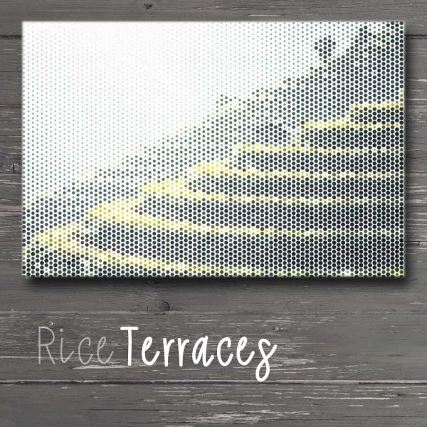 Rice Fields Wall Art