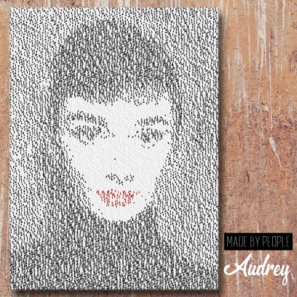 Audrey Hepburn Canvas Wall Art